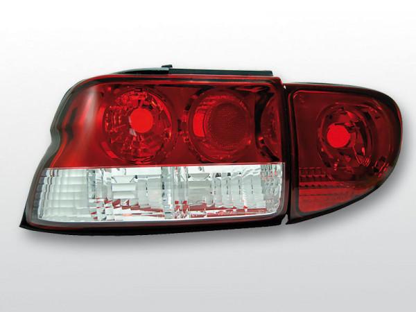 chrom 95 Rückleuchten Ford Escort Typ MK6 Bj
