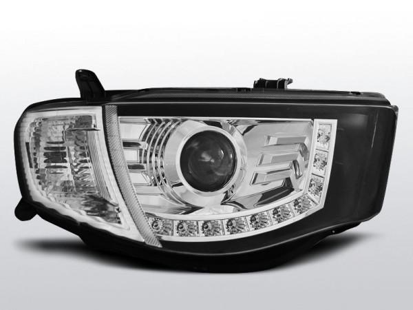 mitsubishi l200 06-10 - led scheinwerfer in chrom | cr lights