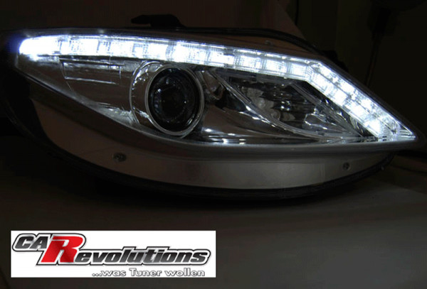Seat Ibiza 6J 06.08-12 Led Scheinwerfer mit LED Blinker chrom