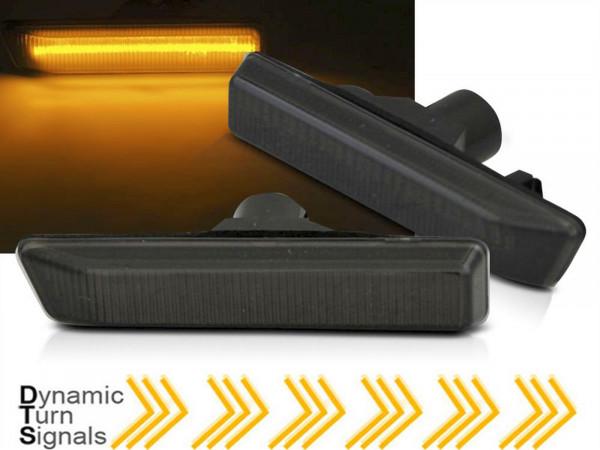 Dynamische LED Seitenblinker Set smoke für BMW X5 E53 99-06