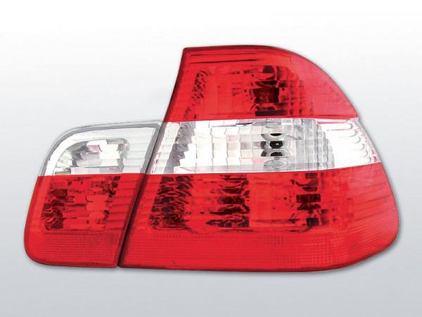 Für BMW E46 05.98-08.01 - Rückleuchten in rot