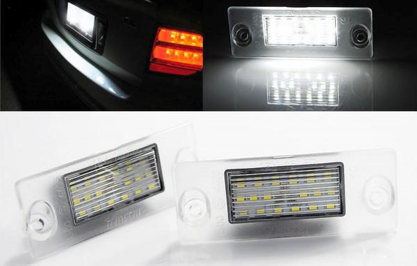 Audi A4 B5 Limo / Avant LED Kennzeichenbeleuchtung - E-Prüfzeichen