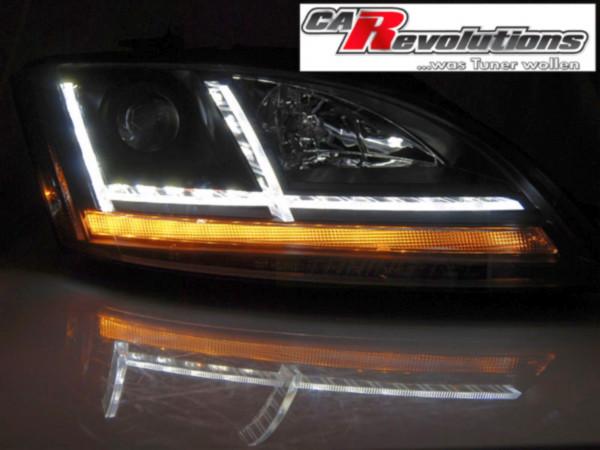 Audi TT 8J - Led Scheinwerfer dynamische Blinker 8S Look schwarz